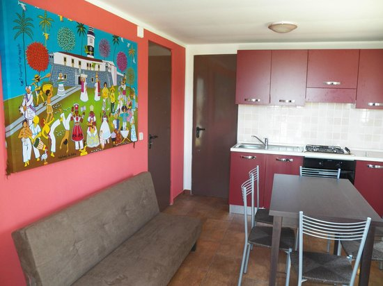 SOS Sporting Village: particolare chalet Lilla