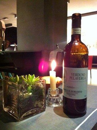 Caoba Restaurant : vino italiano