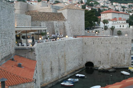 Dubrovnik 4Seasons: View from the attic bedroom
