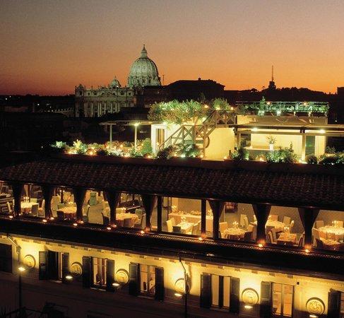 Roof Garden Les Etoiles Rome Vatican Borgo Menu
