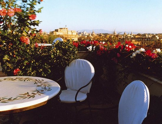 Roof Garden Les Etoiles : Roof Terrace
