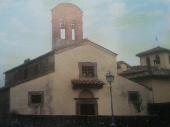 Capolona, Italia: facciata di pieve a Sietina