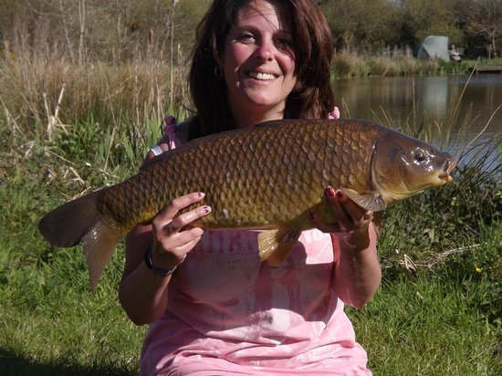 Trevella Holiday Park: One of many caught!