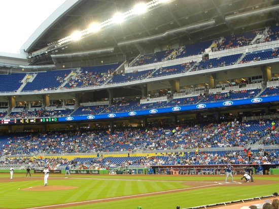 Marlins Mascot Picture Of Marlins Park Miami Tripadvisor