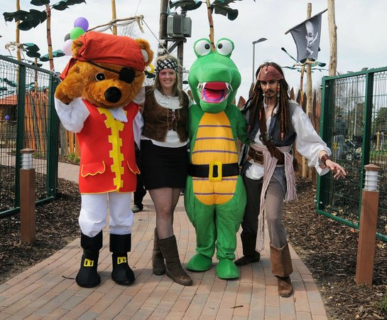 Welcome to Pirate Island Adventure Golf, Woking