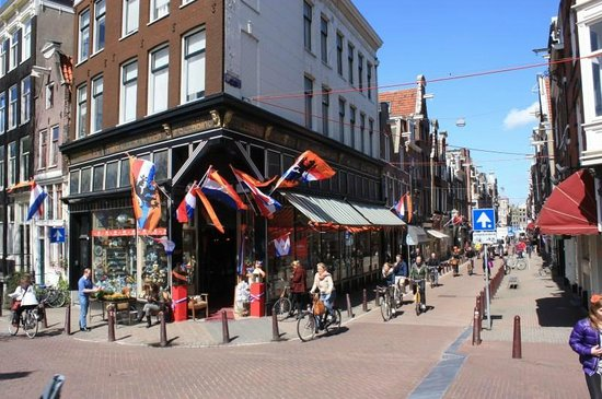 City Sightseeing Amsterdam: Check out the beautiful sky we had!