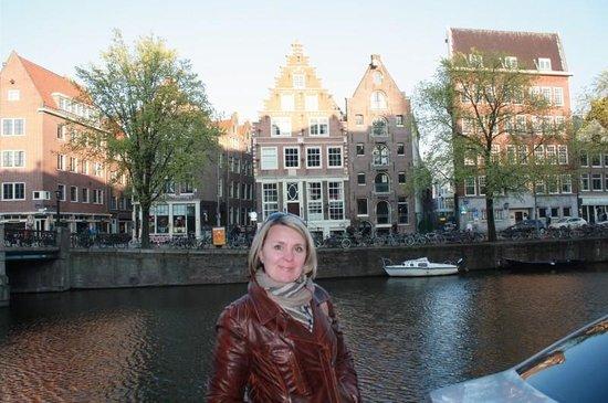 City Sightseeing Amsterdam: Lana enjoying the Day!