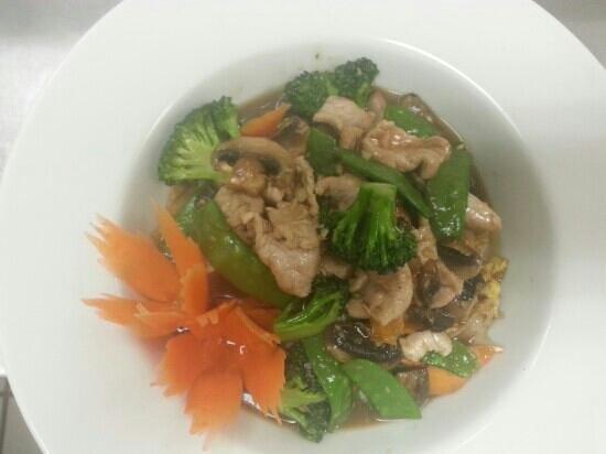Thai 9: laadnar pork its so good!!!!