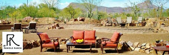 The Paniolo Ranch: Outdoor Lounge