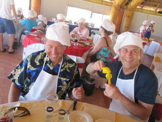 The Original Salsa and Salsa Los Cabos: The guys having fun