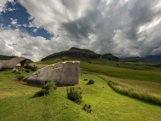 Didima Camp: Cabin in traditional San architecture