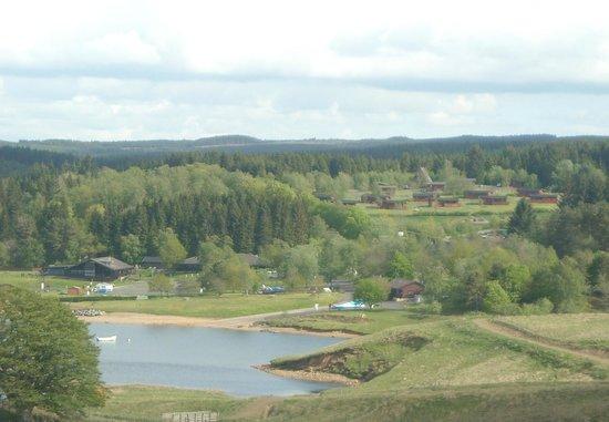 Kielder Waterside: the log cabins