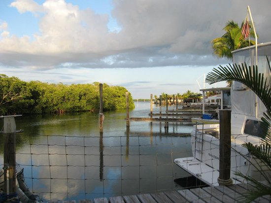 Pelican Cay Harbor Campground and Marina : The scenery is tops