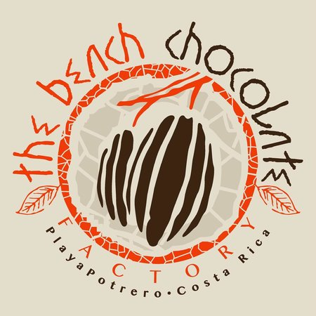 The Beach Chocolate Factory: our new logo stamp