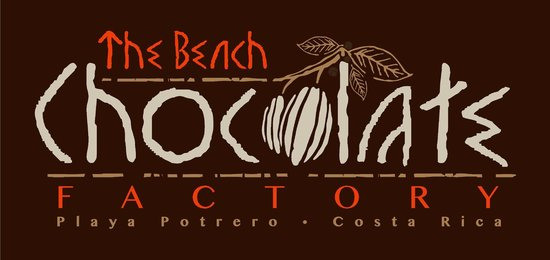 The Beach Chocolate Factory: our new logo