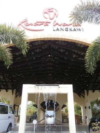Resorts World Langkawi: Resort Entrance