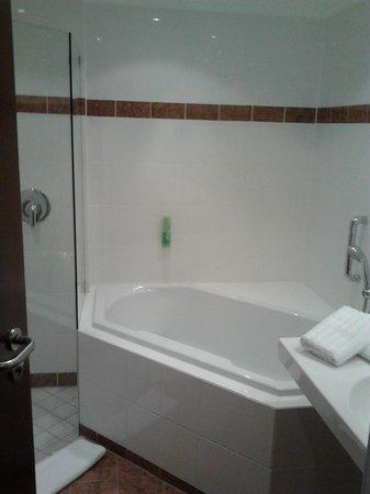 Hotel am Badersee: Bathroom