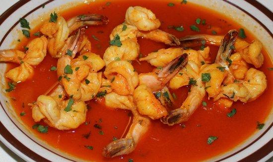 Barcellos Family Restaurant: Shrimp Mocambique