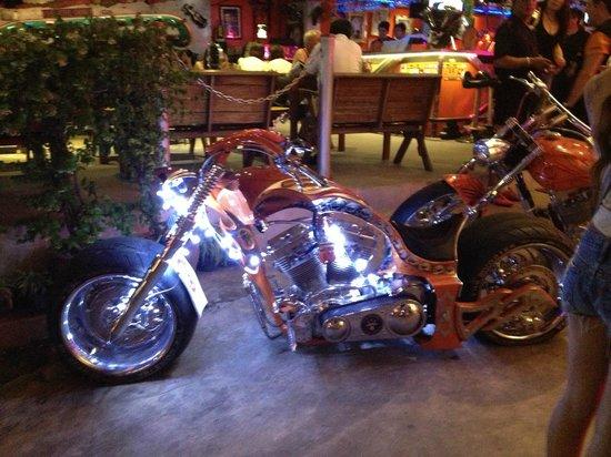Nicky's Handlebar: One of the beautiful Bikes