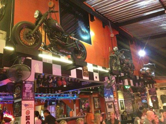 Nicky's Handlebar: Bikes in the bar