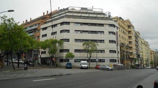 Hotel Amrey Sant Pau: Vista entrata Hotel
