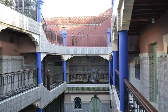 Hotel Central Palace : Riad Innenhof