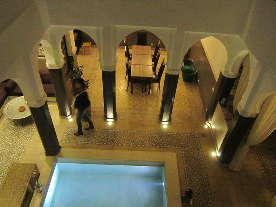 Riad Alnadine: Colazione in terrazza