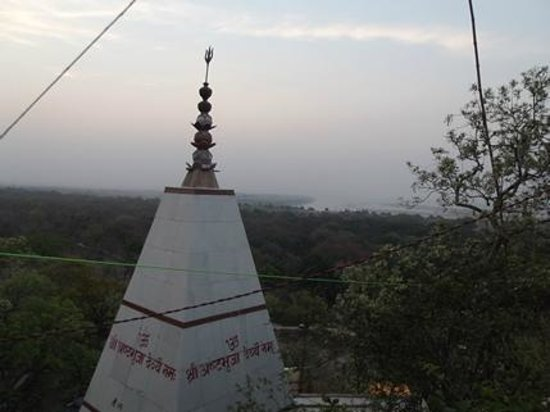 Mirzapur, Indien: Top of the temple