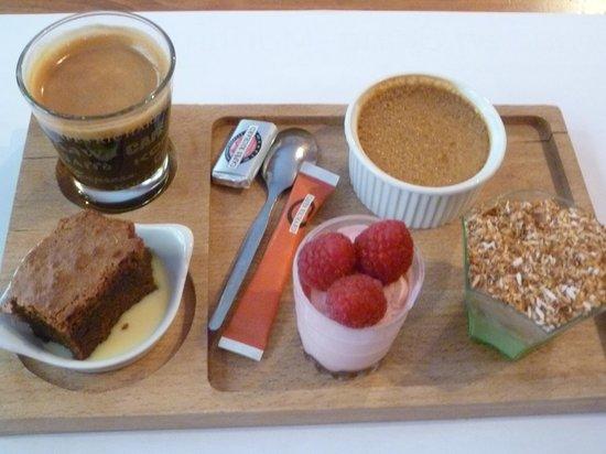LA COTRILLADE : café gourmand