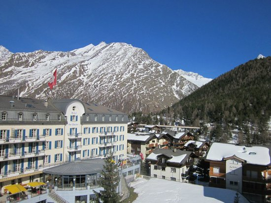 The Dom Hotel : View from balcony (sunny day)