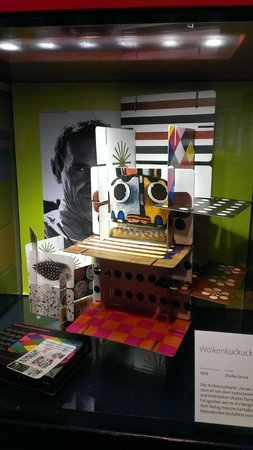 "Museum Ravensburger: Charles Eames' Wolkenkukushaus game ""Cloud Cuckoo House"""