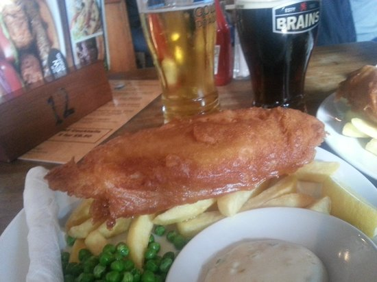 Bucks Head: Fish and chips