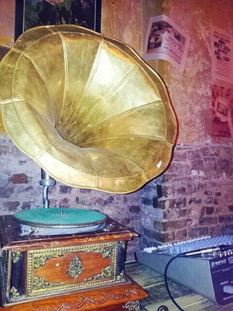 Wilton's Music Hall : Wiltons gramaphone