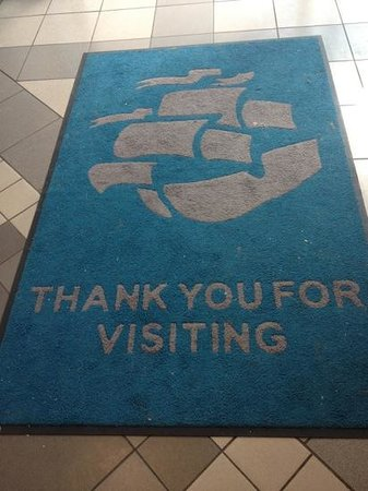 Coral Reef - Bracknell's Water World: Dirty exit mat- it wasn't raining is this really needed?