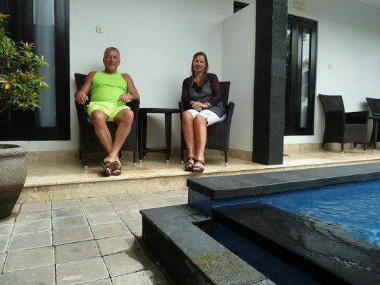 Legian Guest House: jez & kim