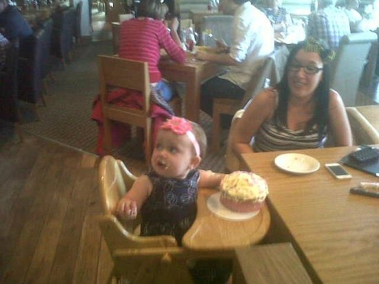 Kilsyth, UK: The birthday girl aged 1 year! Xx