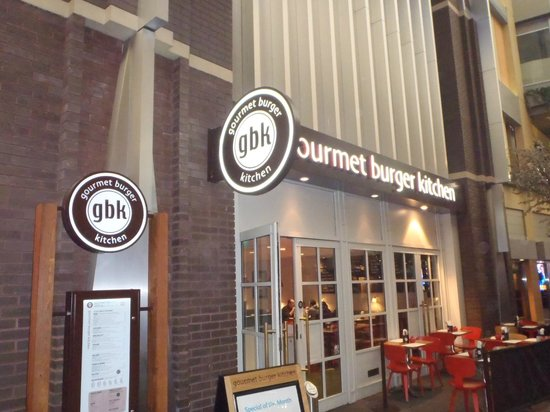 Gbk Picture Of Gourmet Burger Kitchen London Tripadvisor