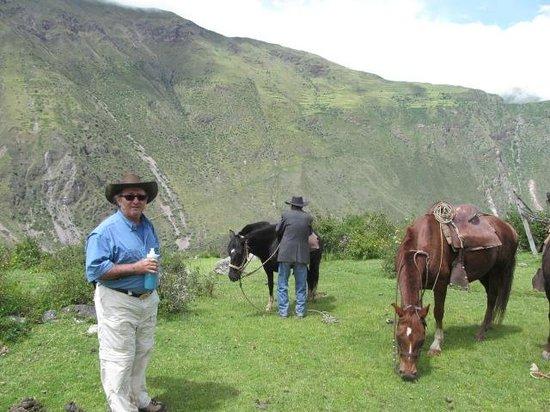 Pumamarca Ruins : just arrived at Pumamarca