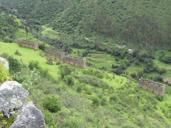Pumamarca Ruins : Pumamarca
