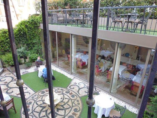 Sokullu Pasa Hotel: Innenhof