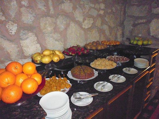 Sokullu Pasa Hotel: Frühstücksbufett