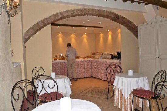 Antica Residenza Cicogna: breakfast room