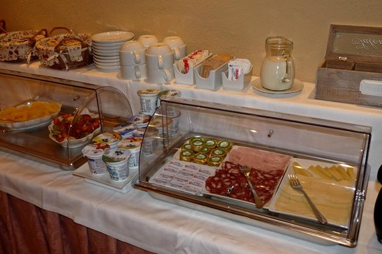 Antica Residenza Cicogna: breakfast selection