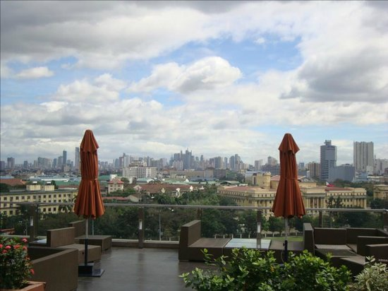 The Bayleaf: Manila from Bayleaf Rooftop