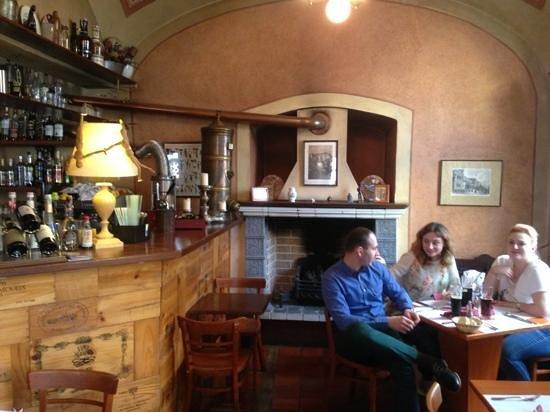 Restaurace Stoleti : having lunch @ stoleti