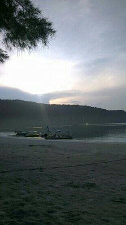 Fauna Beach Chalet: Beautiful morning