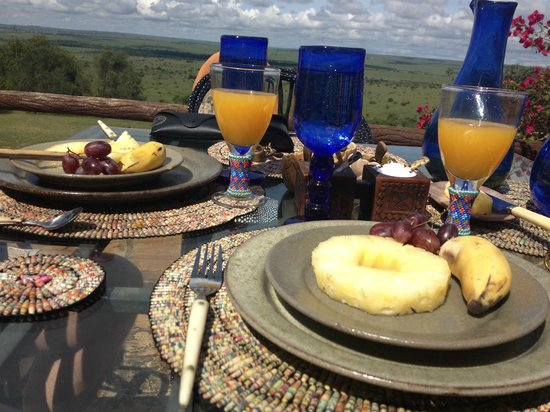 African Heritage House: breakfast