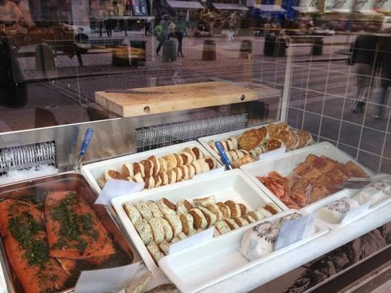 Fiskeriet Youngstorget: hamburger di pesce ed altre specialità