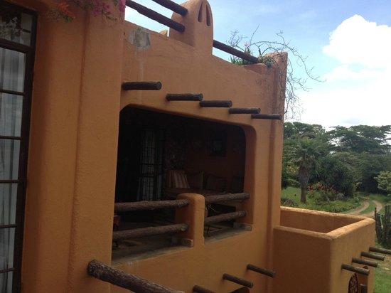 African Heritage House: lamai suite terasse