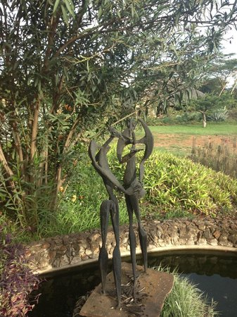 African Heritage House: sculpture